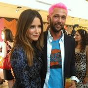 Sophia Bush at Chris benz Fashion Show, on Sept 12, 2011 in NYC X 3 MQ's