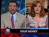 Liz Claman, Fox Business News - very busty with cleavage (11-03-08)