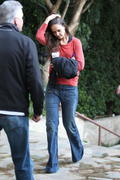 Кэти Холмс, фото 5788. Katie Holmes - Leaving a dance class in Los Angeles - 02/15/12, foto 5788