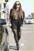 Demi Lovato Shopping in West Hollywood 10/6/11