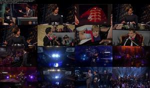 Alicia Keys - Girl On Fire + Interview [Jimmy Kimmel 11-02-12] (720p)