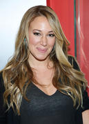 Haylie Duff at Broadway Steak 'n Shake in New York 06/07/14
