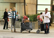 Sophie Monk @ LAX Airport, February 8, 2011