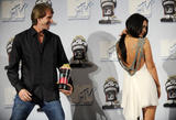 Megan Fox shows legs and cleavage at 2008 MTV Movie Awards