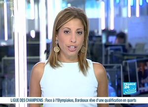Lea Salame France 24 Tvnewscaps