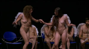 Naked on Stage Dance in Lyon